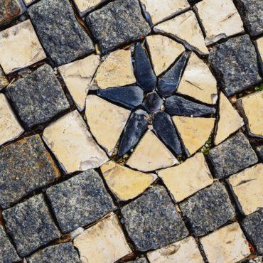 Sidewalk in Lisbon