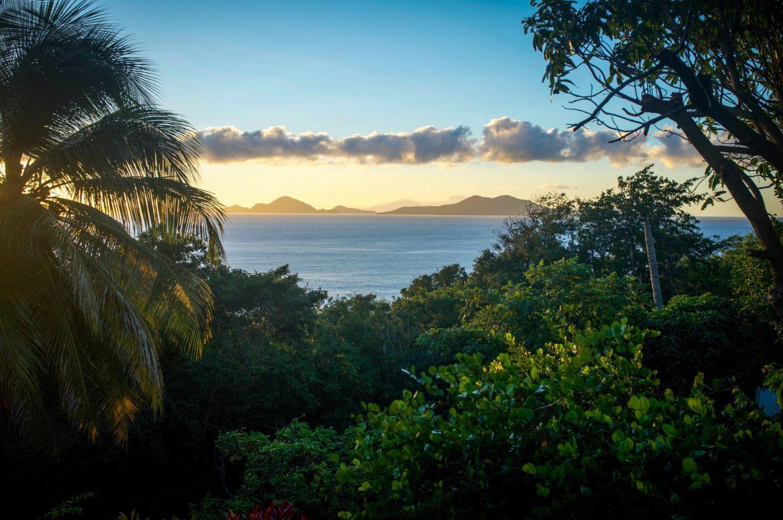 Sunrise over Les Saintes - Guadeloupe