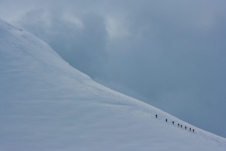 Climbers, Antarctica