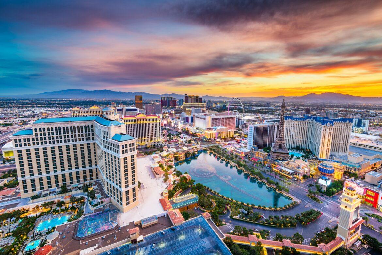 Las Vegas, Nevada, USA Skyline at Dusk