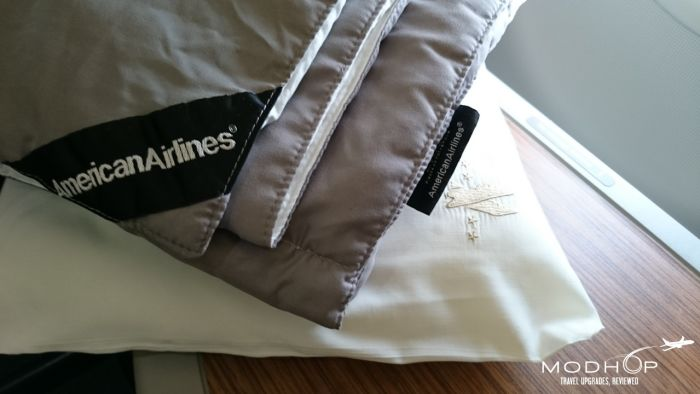 American Air First Class Bedding.
