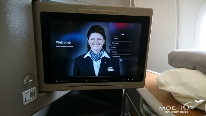 American Air personal TV.