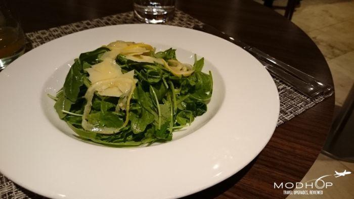 British Airway Concorde Lounge - Salad
