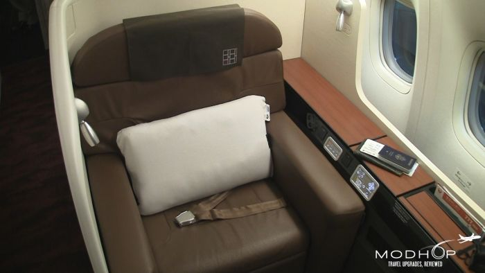 Japan Airlines First Class - 777-300ER