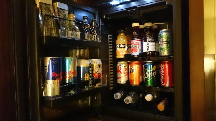 The W New York Minibar