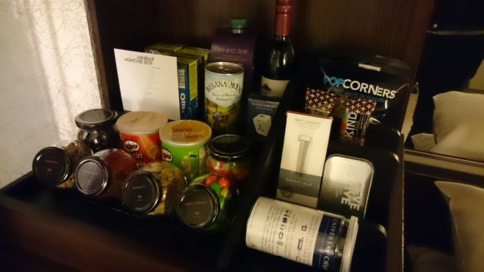The W Hotel New York - Minibar