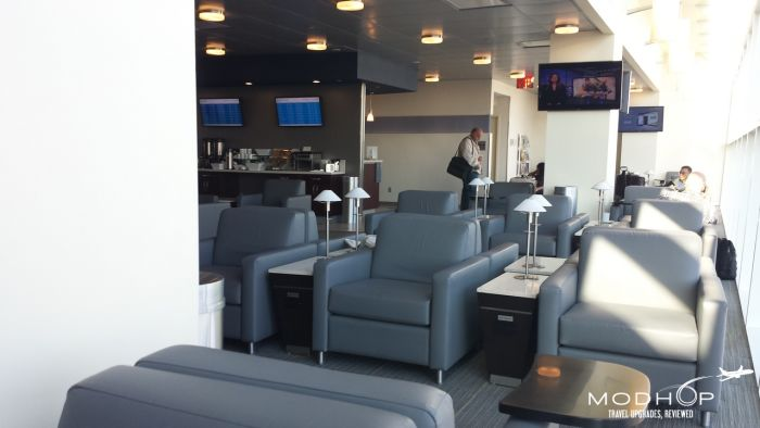 LaGuardia Airport Admirals Club - Seats