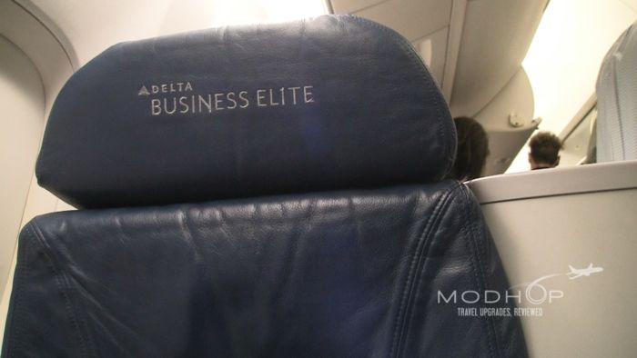 Delta 767300 One (Business) Class seat
