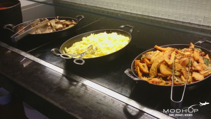 """American Express Lounge """"The Centurion"""" brings food to LaGuardia lounging."""
