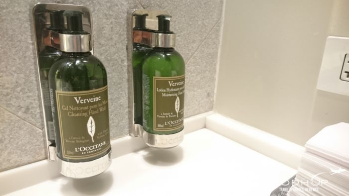 Centurion Lounge LGA soap