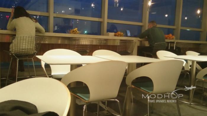 American Express Centurion Lounge LGA seating