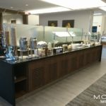 Buffet is big improvement at EWR Sky Club.