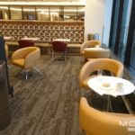 Cafe Seating at EWR Sky Club
