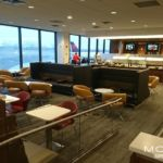 Delta Sky Club at EWR Newark Airport near New York.