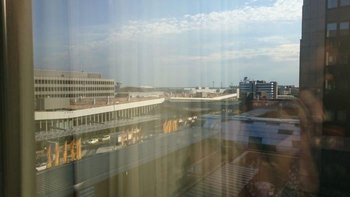 Sheraton Frankfurt Airport Hotel view.