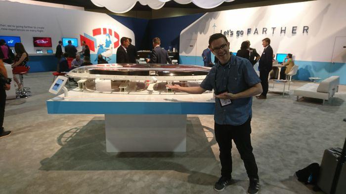 GoGo booth APEX EXPO